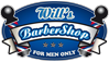 Will's Barbershop Logo