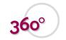 360 Grad Haare Logo